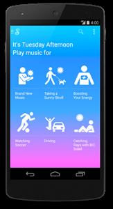 Songza - Mobile Screenshot