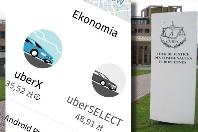 Uber powinien być traktowany jak taksówka – orzekł Europejski Trybunał Sprawiedliwości