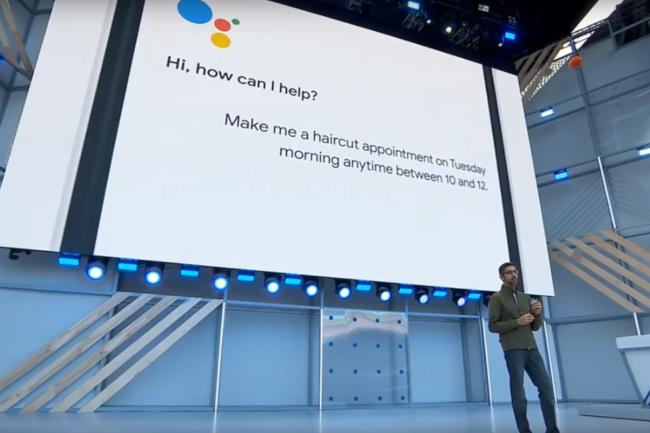 Asystent Google przestanie brzmieć jak syntezator mowy, a dzięki Google Duplex umówi nas do fryzjera