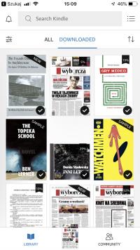 Kindle 1 książek