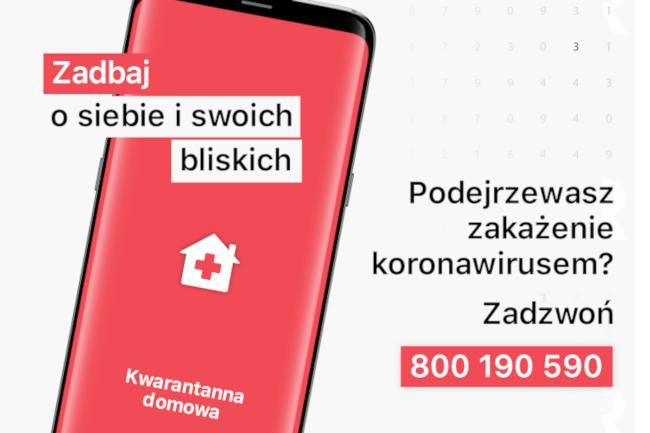 Wszystko o aplikacji mobilnej dla osób przebywających na domowej kwarantannie